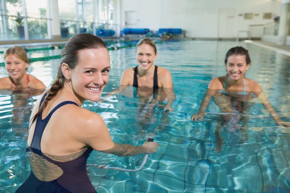 exercices piscine maigrir