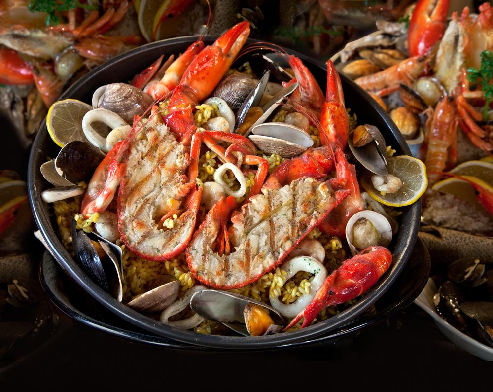 régime fruits de mer